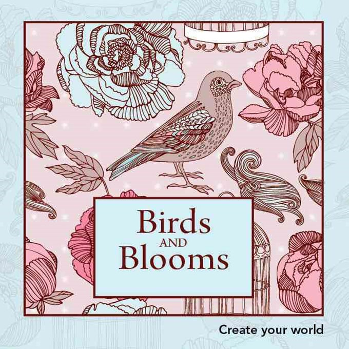 Birds and Blooms Create Your W