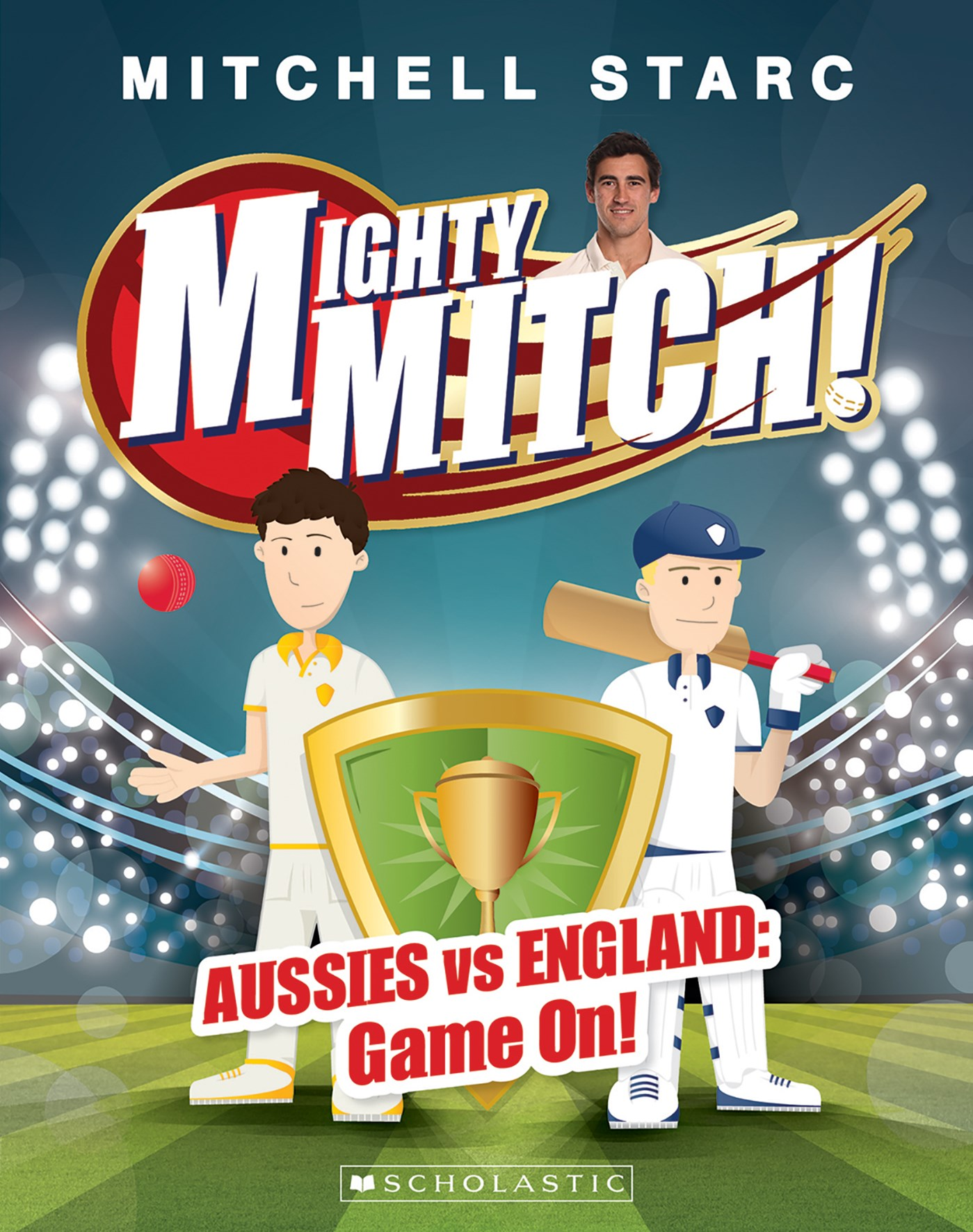 Mighty Mitch #1: Aussies vs England: Game On!