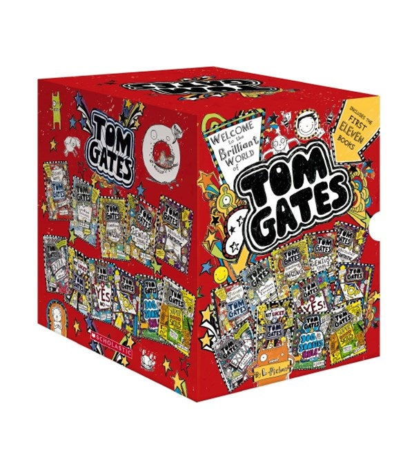 Tom Gates 1 to 11 Boxed Set
