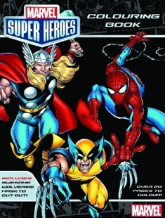 Marvel: Marvel Super Heroes Colouring Book by  (9781742831824) - PaperBack - Children's Fiction Intermediate (5-7)