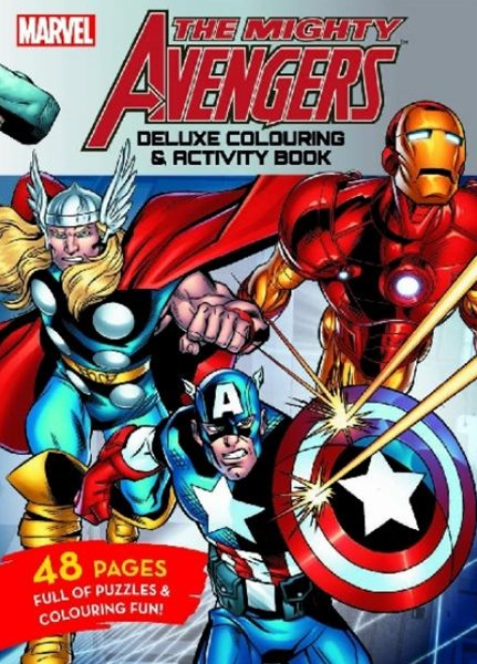 Mighty Avengers: Deluxe Colouring & Activity Book