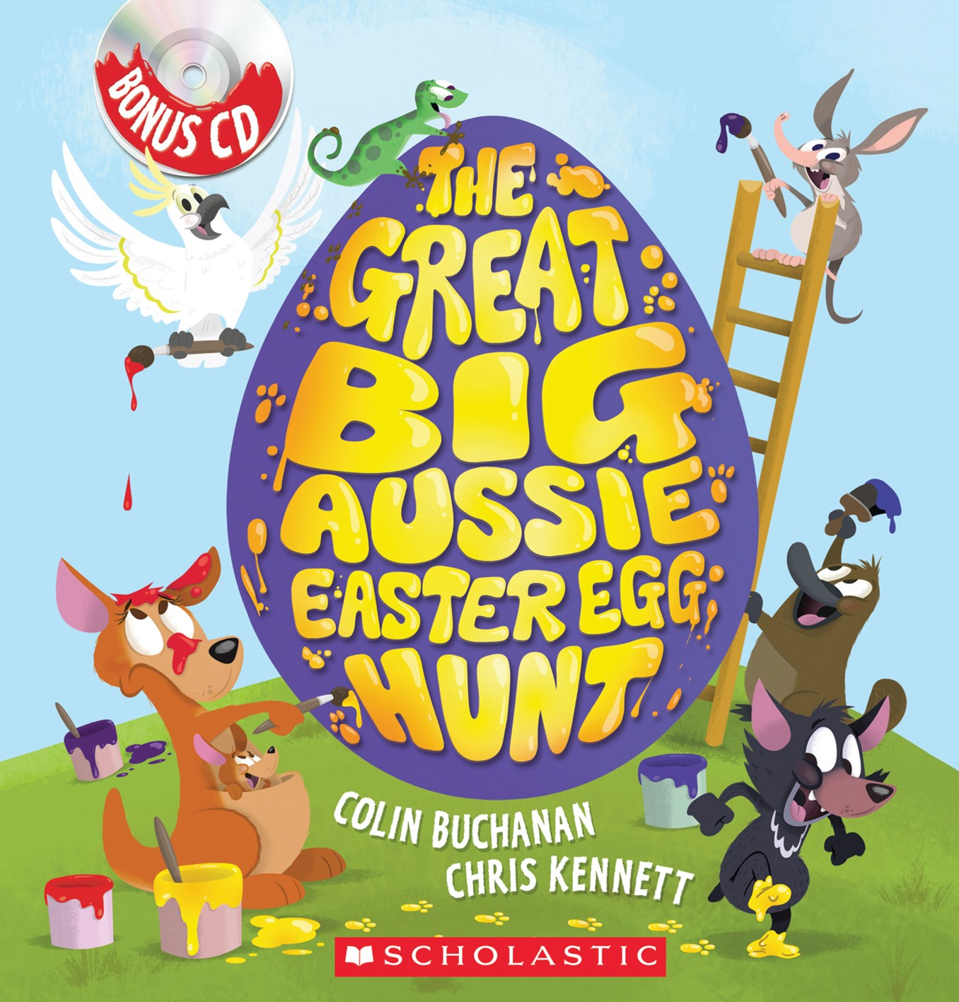 Great Big Aussie Easter Egg Hunt (with CD)