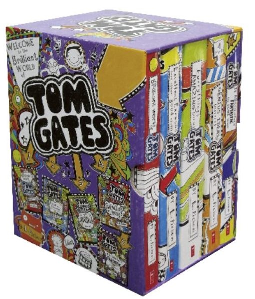 Welcome to the Brilliant World of Tom Gates Boxed Set