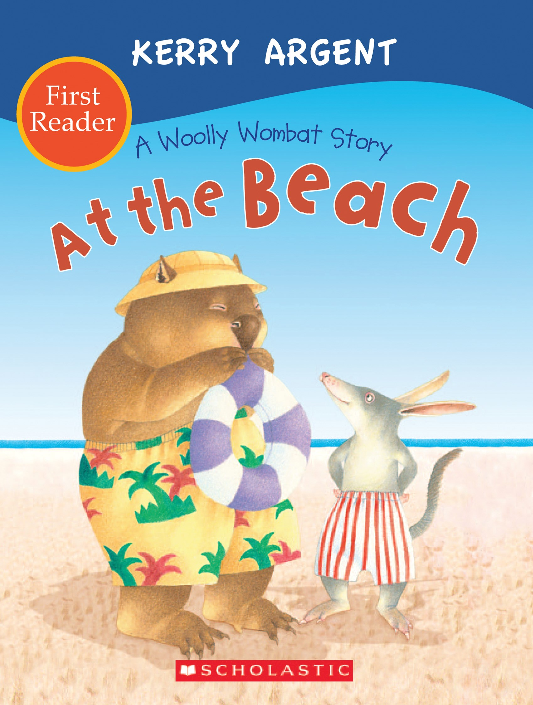 One Woolly Wombat: At the Beach First Reader
