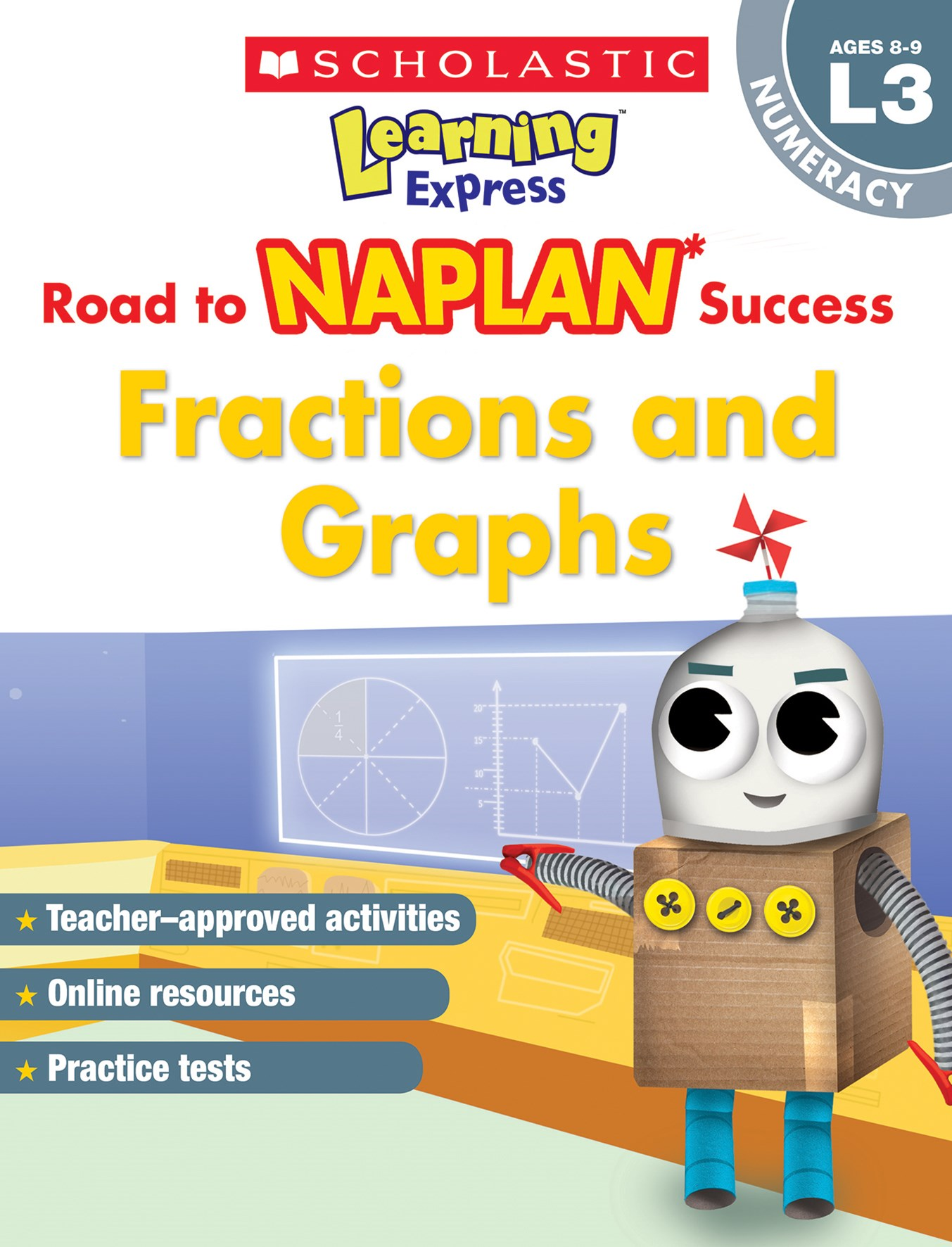 Learning Express NAPLAN L3: Fractions and Graphs