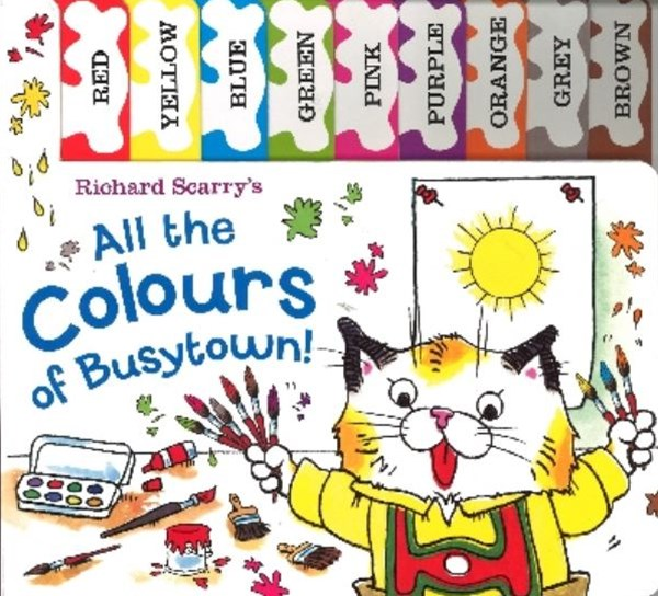 All the Colours of Busytown!