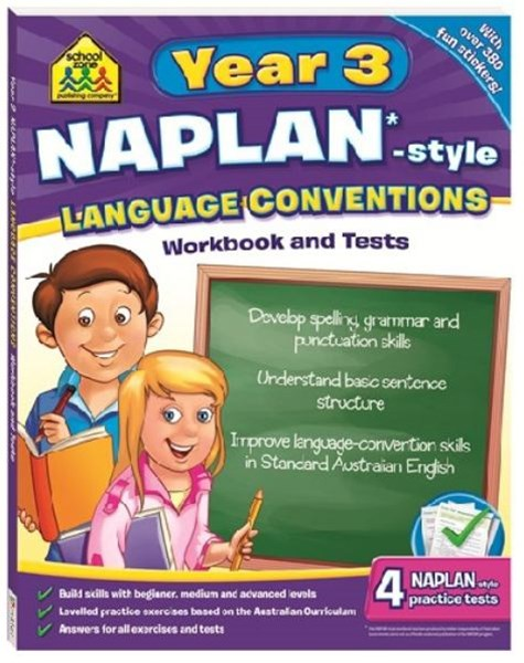Year 3 Naplan-Style Language Conventions Workbook and Tests