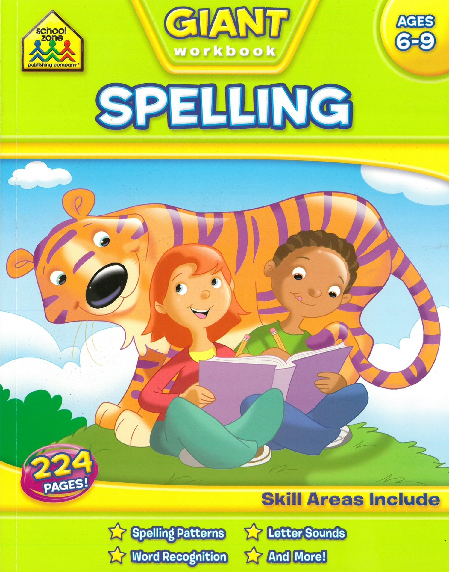 Giant Spelling Workbook 2-4