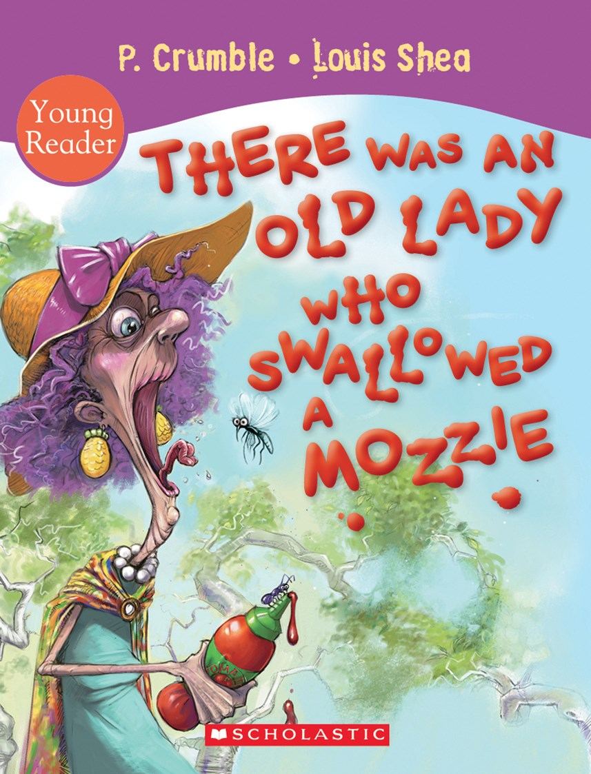 There Was an Old Lady Who Swallowed a Mozzie Young Reader