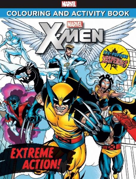 X-Men Colouring and Activity Book