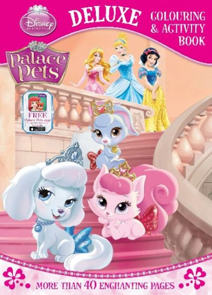 Palace Pets Deluxe Colouring and Activity Book