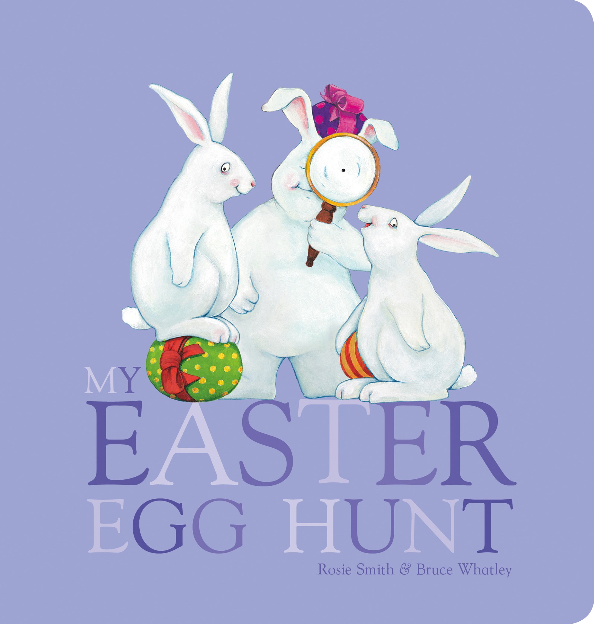 My Easter Egg Hunt Board Book