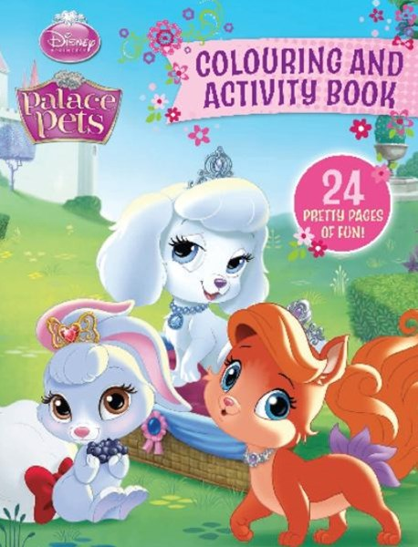 Palace Pets Colouring and Activity Book