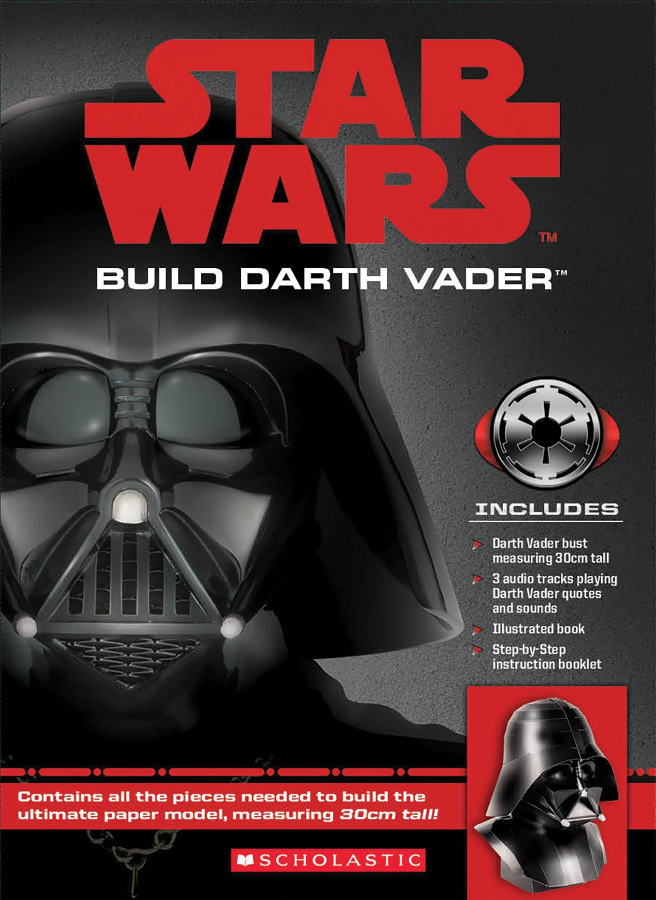 Star Wars: Ultimate Darth Vader Papercraft Kit