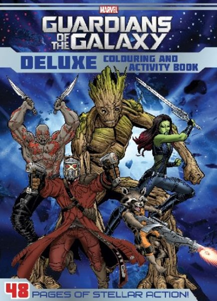 Marvel Guardians of the Galaxy Deluxe Colouring and Activity Book