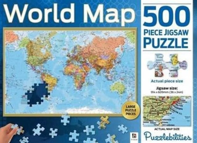 Puzzlebilities World Map