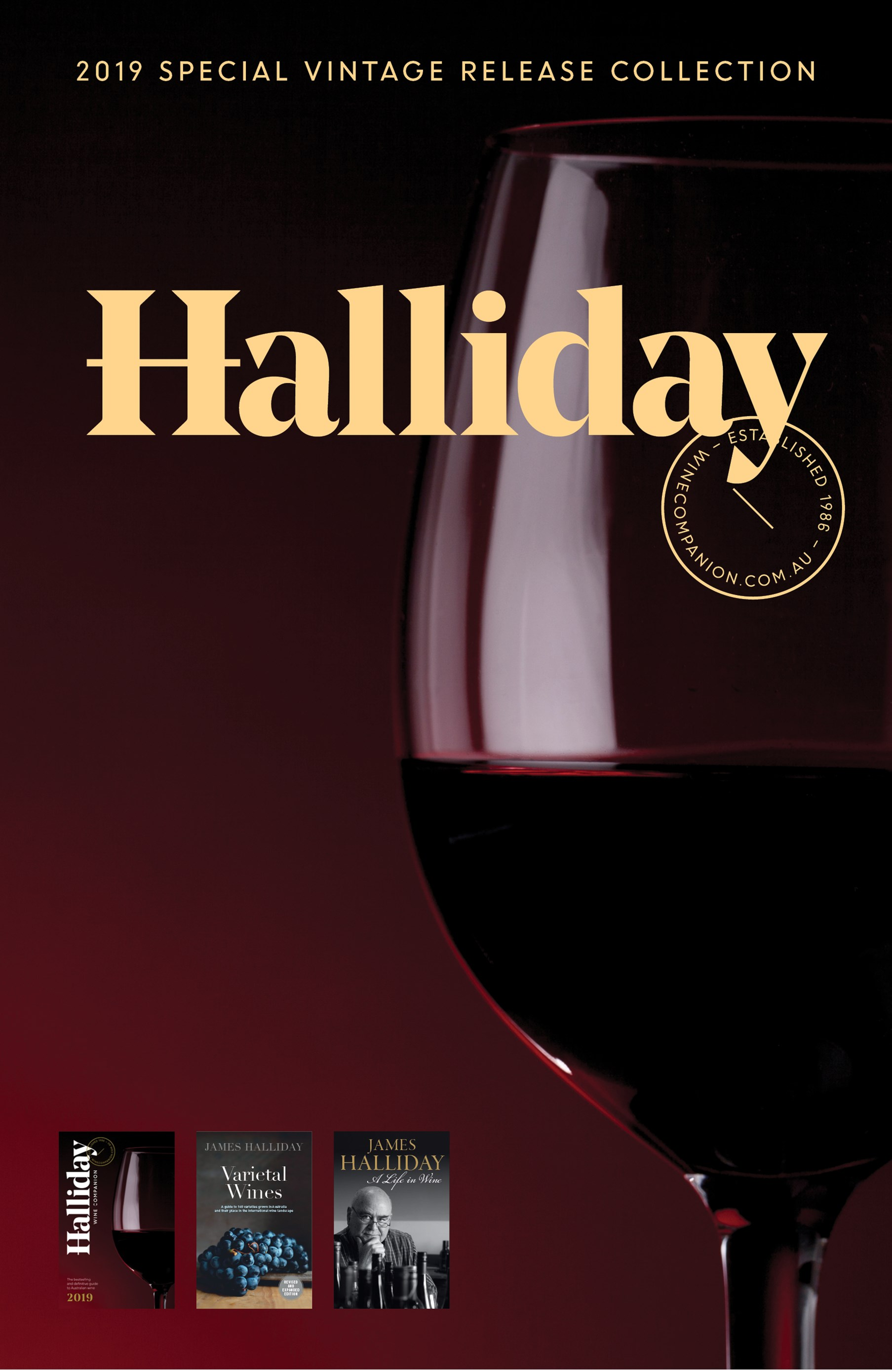 Halliday 2019 Special Vintage Release Collection.