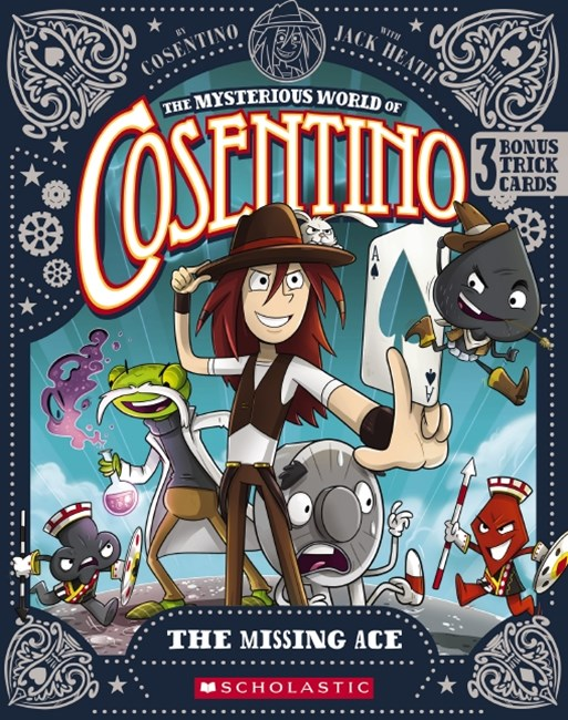 Mysterious World of Cosentino: The Missing Ace + Bonus Trick Cards