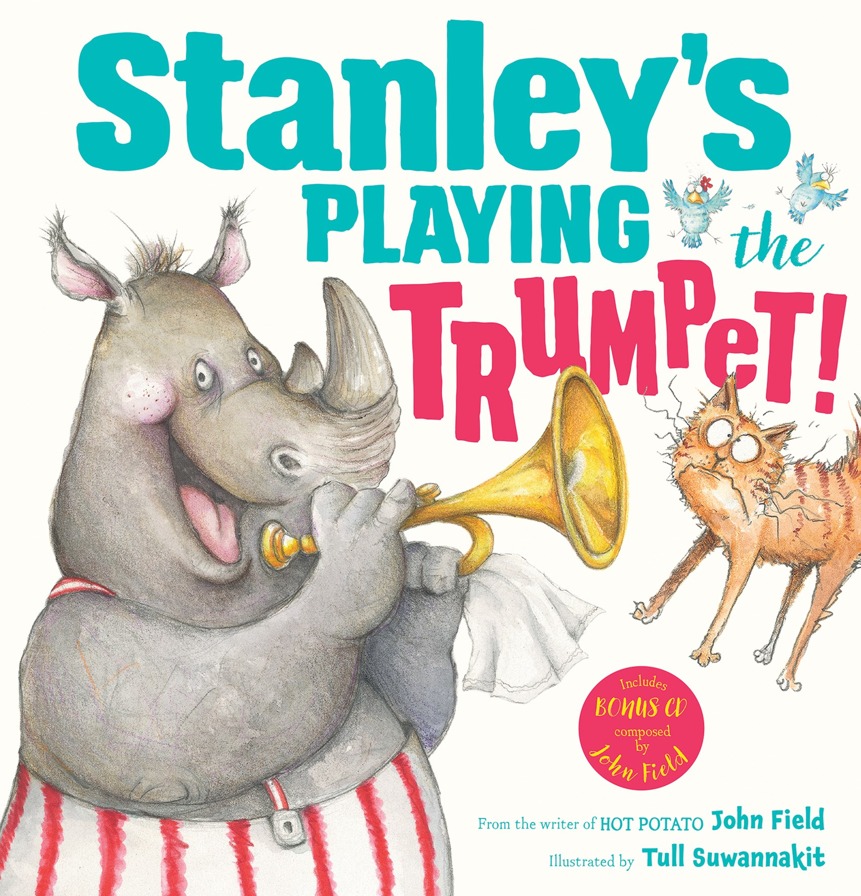 Stanleys Playing the Trumpet! HB + CD