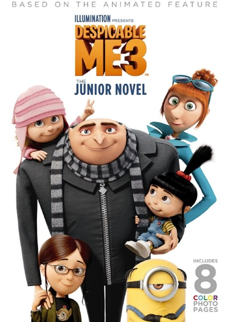 Despicable Me 3: Movie Novel
