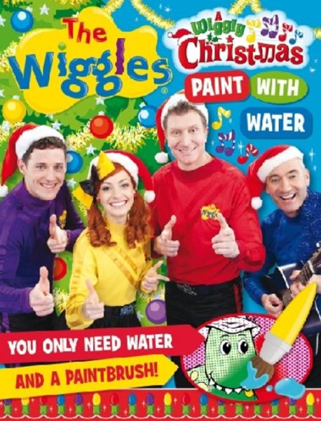 The Wiggles: Wiggly Christmas Paint with Water