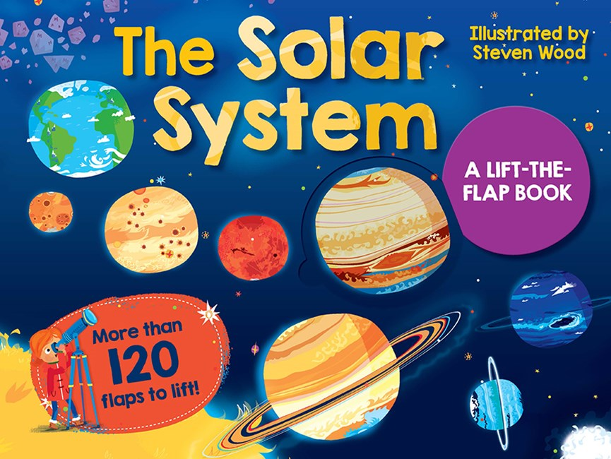 Solar System Lift-The-Flap - New Edition
