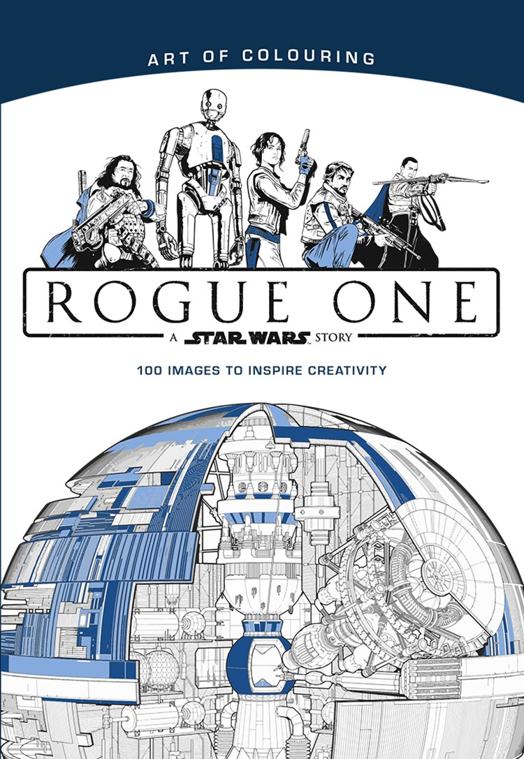 STAR WARS ROGUE ONE ART OF COLOURING