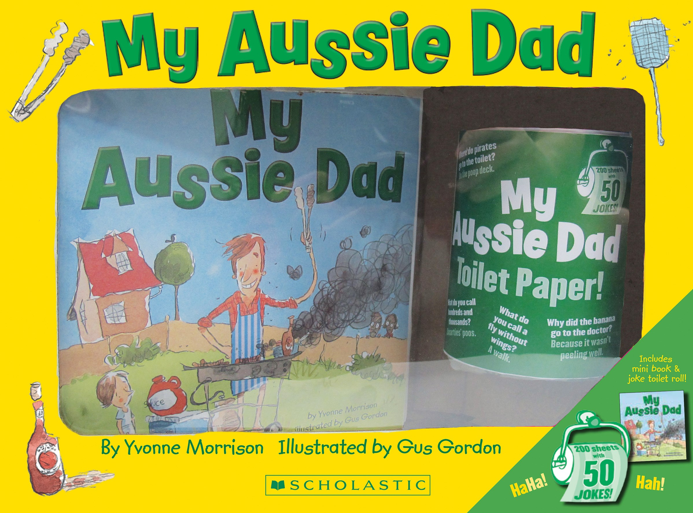 My Aussie Dad  + Joke Toilet Roll Boxed Set