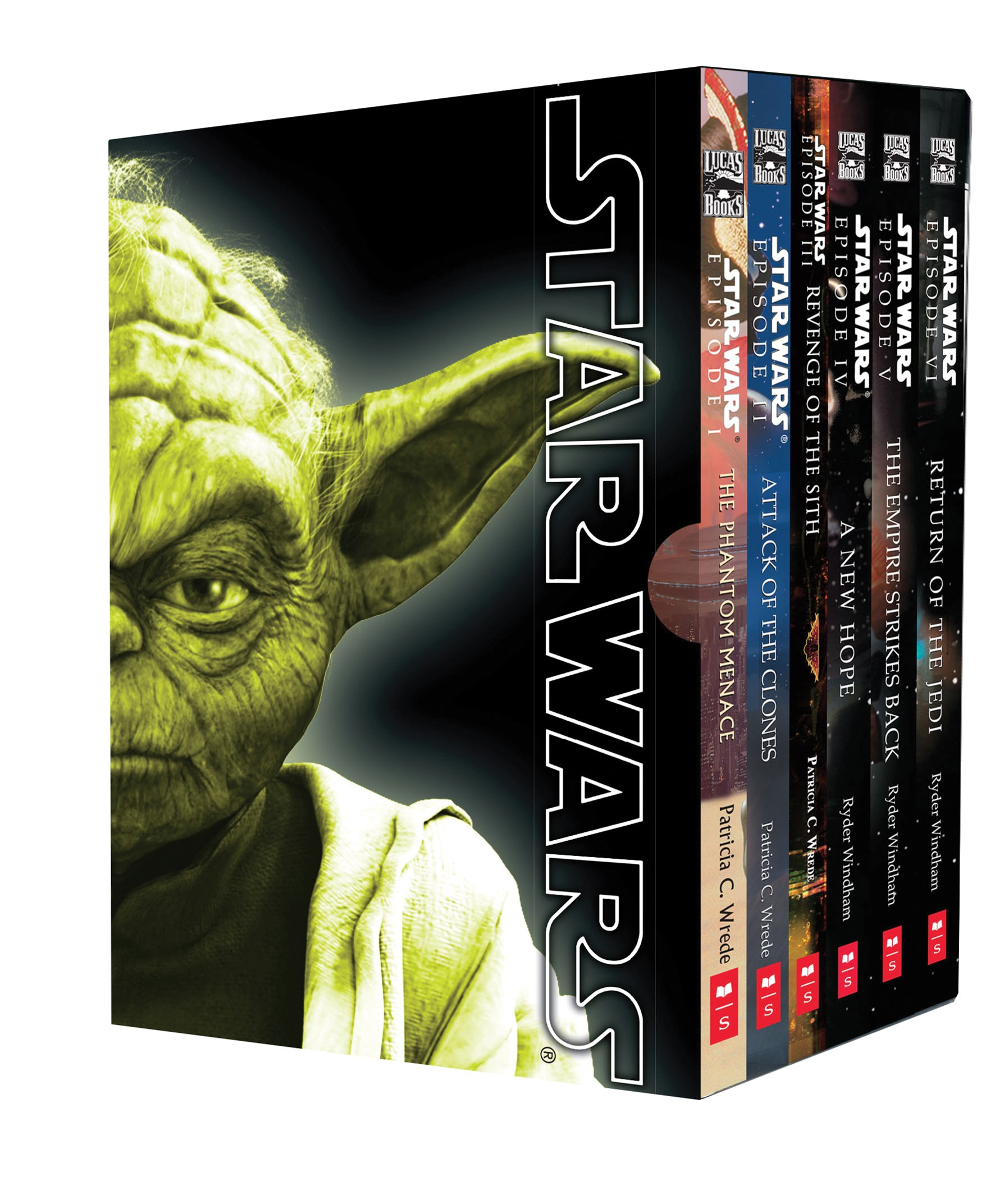 Star Wars Movie Novel Boxed Set
