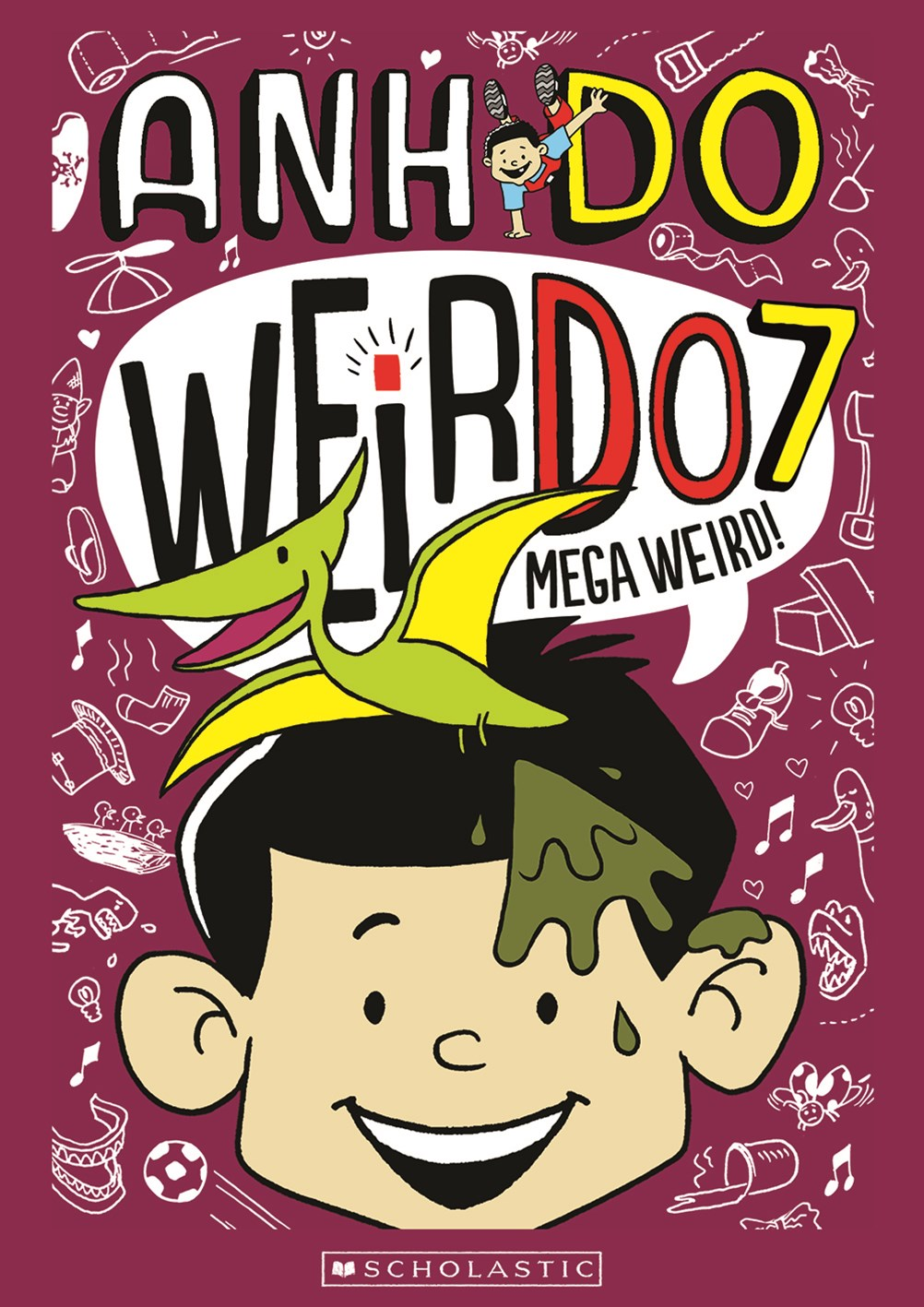 Mega Weird! (Weirdo Book 7)
