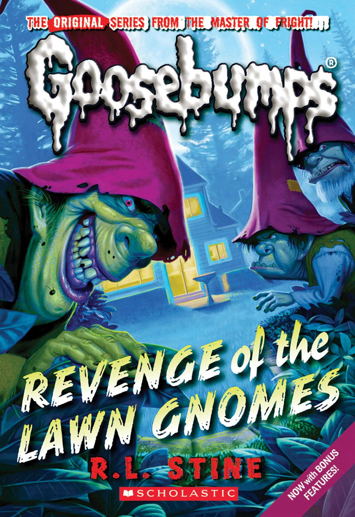 Revenge of the Lawn Gnomes (Goosebumps Classic Book 19)