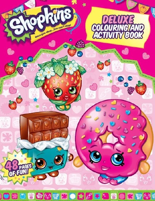 Shopkins Deluxe Colouring and Activity Book