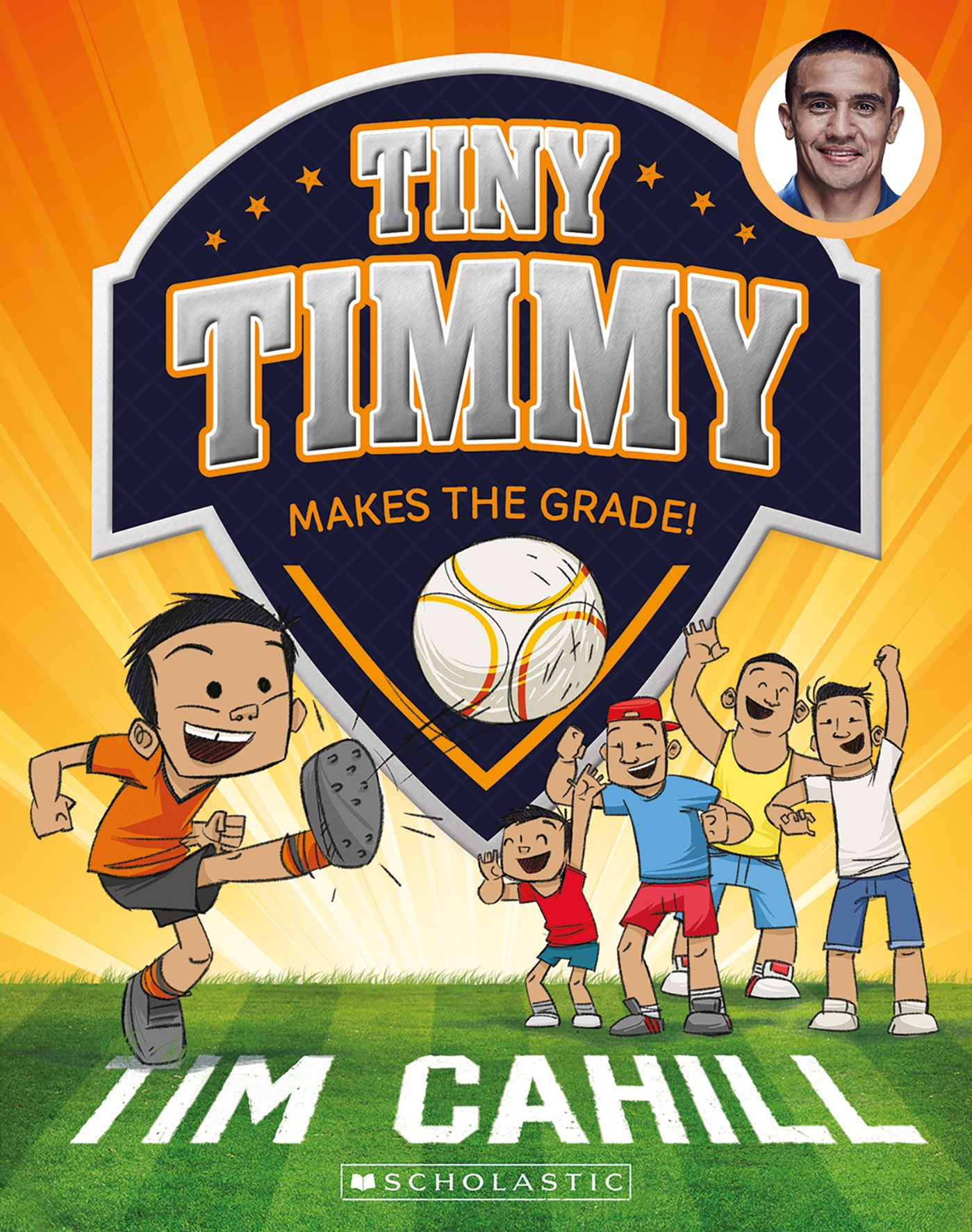 Tiny Timmy Makes the Grade! (Tiny Timmy Book 2)