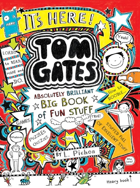 Tom Gates Absolutely Brilliant Book of Fun Stuff PB