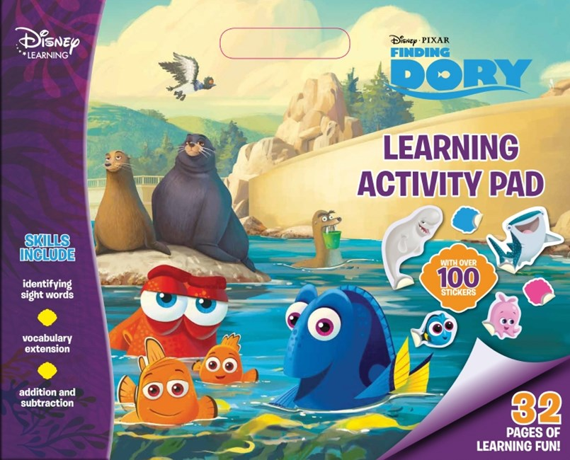 Disney Learning Finding Dory: Learning Activity Pad