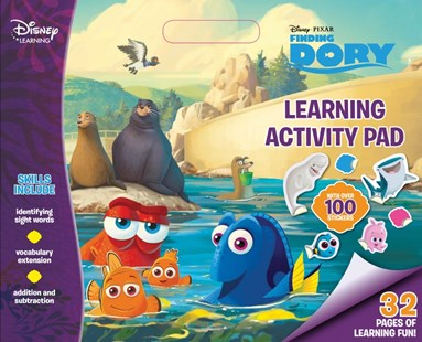 Disney Learning Finding Dory: Learning Activity Pad by  (9781760274900) - PaperBack - Non-Fiction Art & Activity