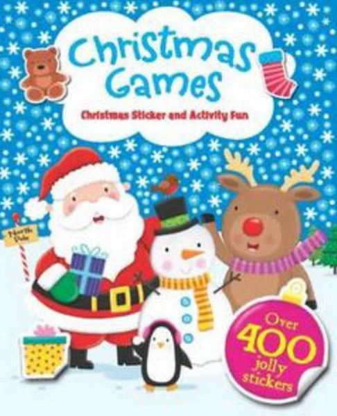 Christmas Games Sticker and Activity Fun