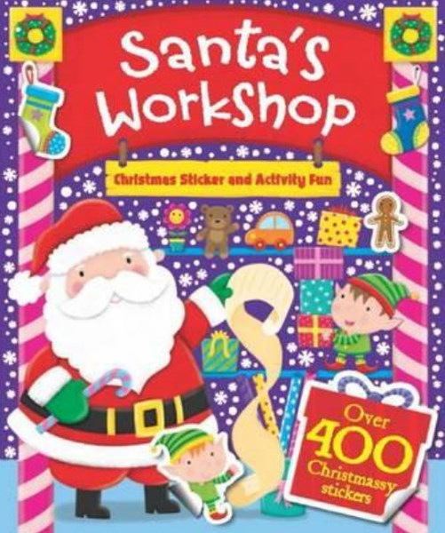 Santa's Workshop Sticker and Activity Fun