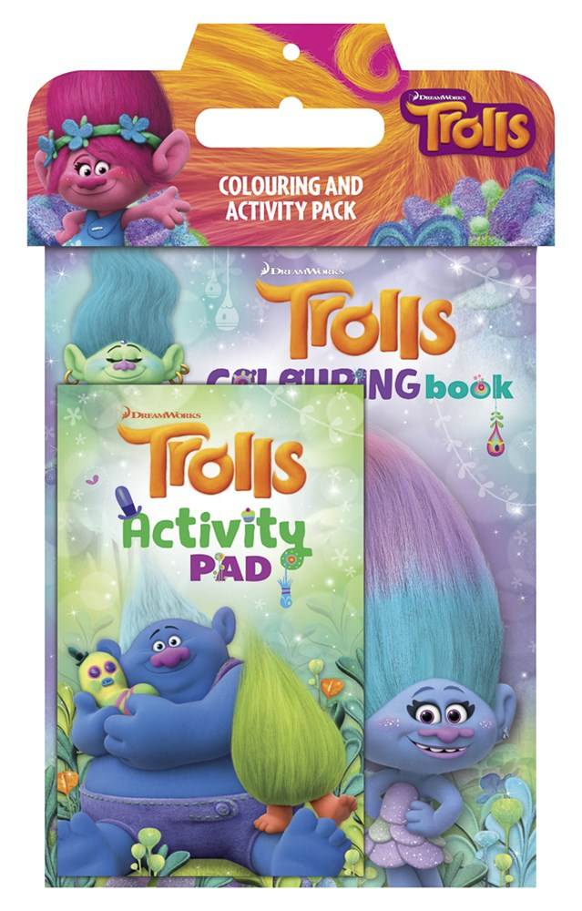 TROLLS COLOURING & ACTIVITY PACK