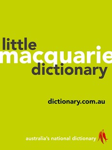 Macquarie Little Dictionary by Macquarie Dictionary (9781760553708) - PaperBack - Language