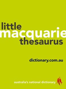 Macquarie Little Thesaurus by Macquarie Dictionary (9781760553715) - PaperBack - Language