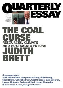 The Coal Curse: Resources, Climate and Australia's Future by Judith Brett (9781760642297) - PaperBack - Politics Political Issues
