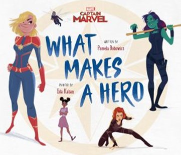 Marvel: Captain Marvel What Makes a Hero by Pamela Bobowicz (9781760666873) - HardCover - Non-Fiction Art & Activity