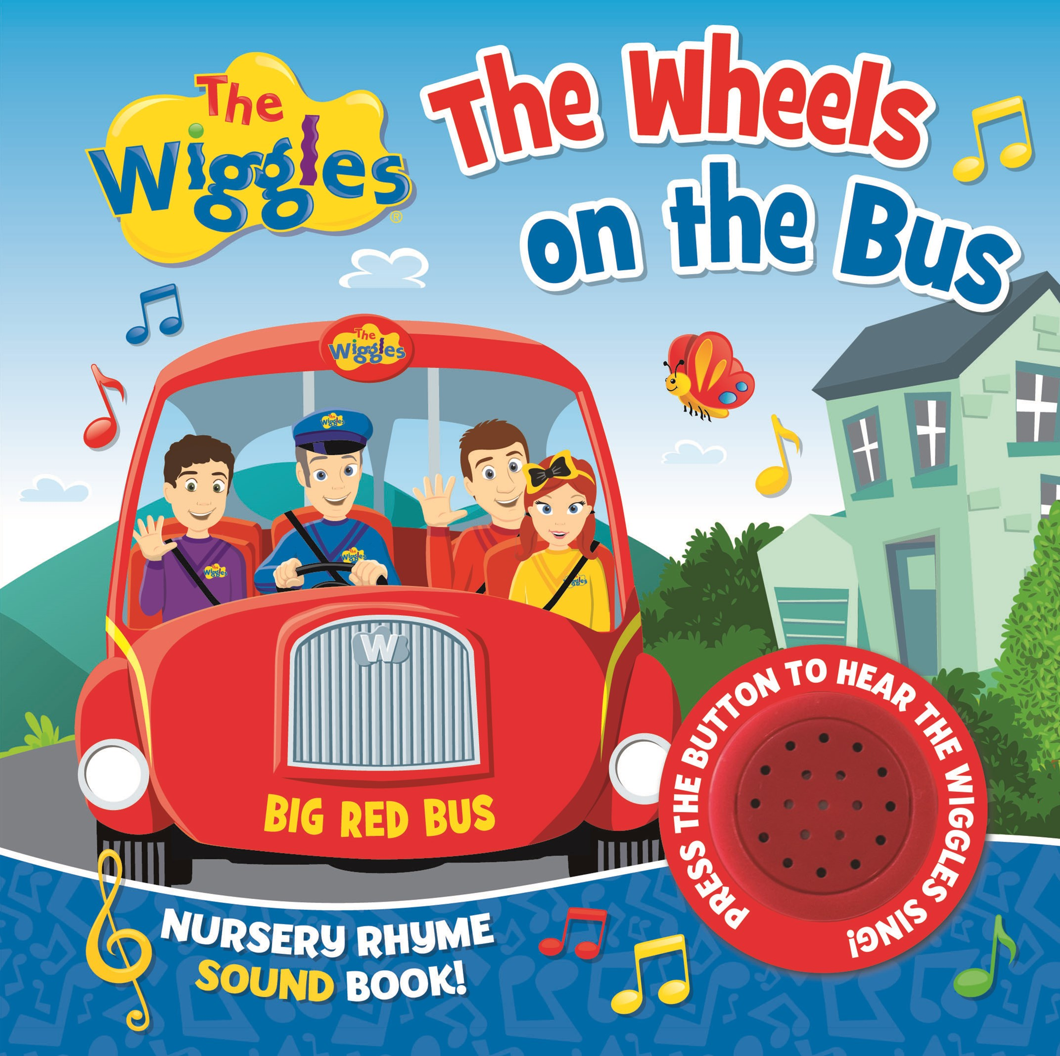 The Wiggles Nursery Rhyme Sound Book: The Wheels on