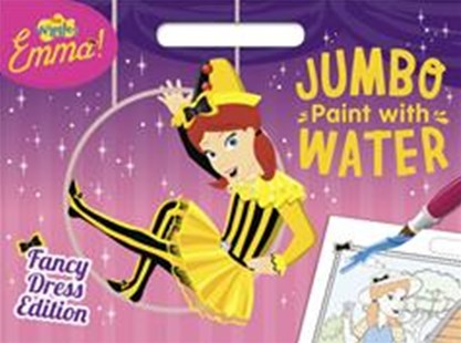The Wiggles Emma: Jumbo Paint with Water by The Wiggles: Emma!, The Wiggles: Emma! (9781760684204) - PaperBack - Children's Fiction Early Readers (0-4)