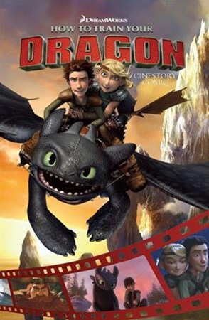 DreamWorks How to Train Your Dragon Cinestory Comic