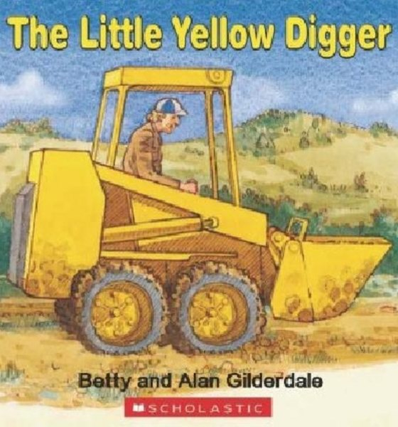 Little Yellow Digger Board Book