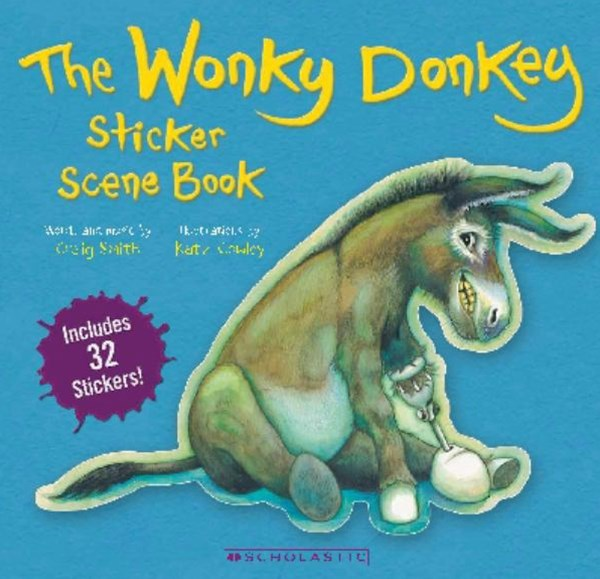 The Wonky Donkey Sticker Scene Book