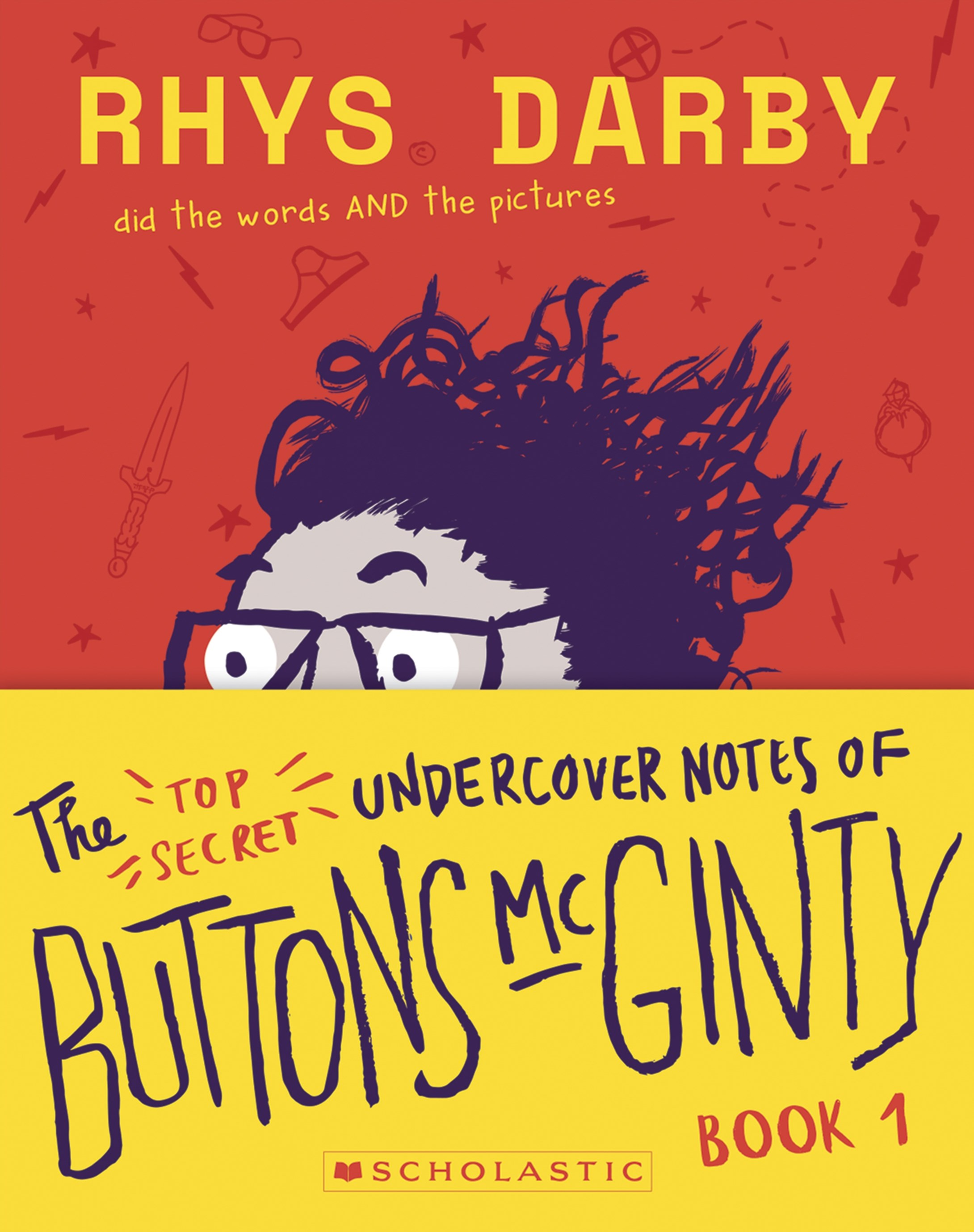 Top Secret Undercover Notes of Buttons McGinty