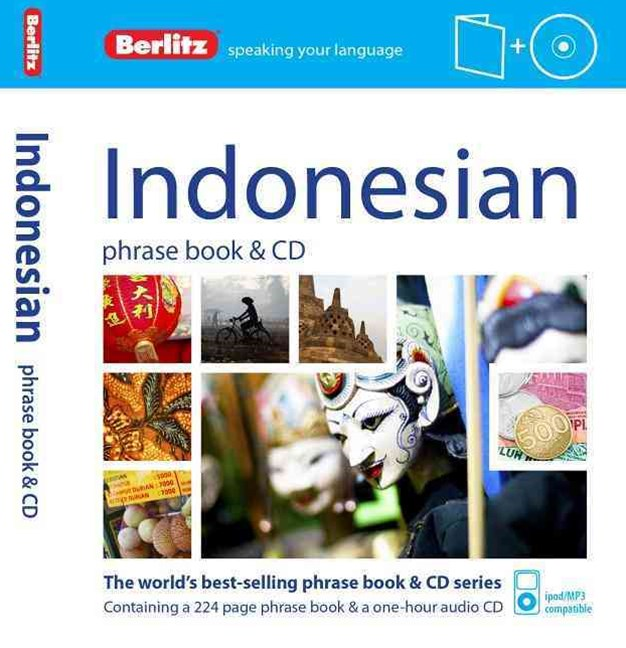 Berlitz Language: Indonesian Phrase Book & CD